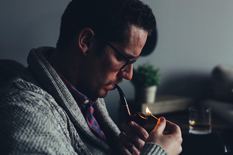 Rooklucht door roken in huis