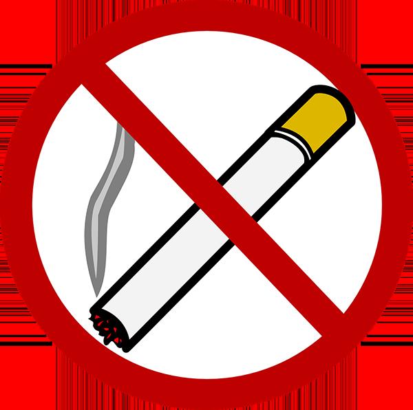 Demonstratie tegen rooklucht