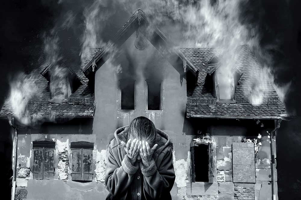 Brandlucht uit huis verwijderen